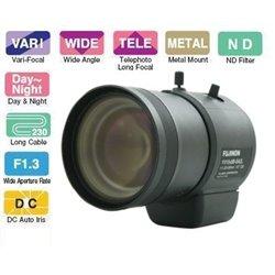 10. Obiektyw Auto-Iris D/N 5-50 mm FUJINON